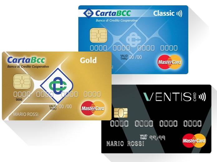Carte di credito BCC: Recensione e Opinioni delle 3 carte offerte.