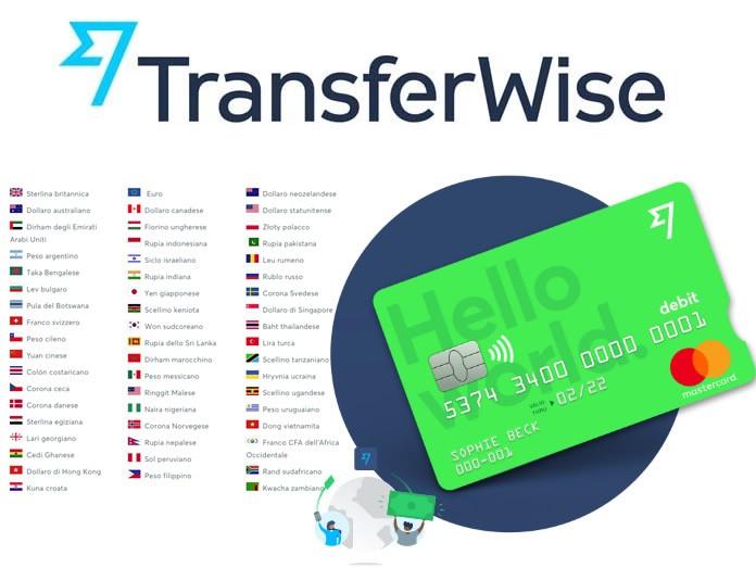 TransferWise: Recensione ed Opinioni del conto corrente e della carta