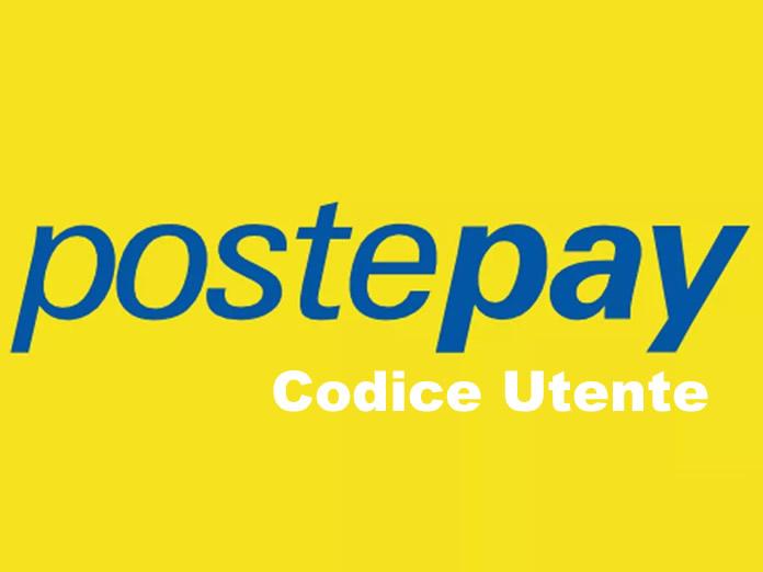 Codice Utente Postepay